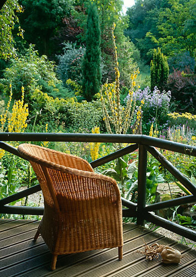 Summerhouse chair - Hillbark - Design Malcolm Simm